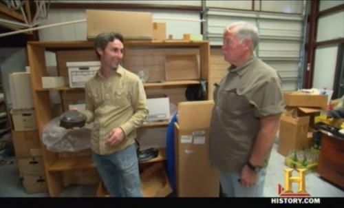 American Pickers Smooth Operator episode Harley Davidson parts