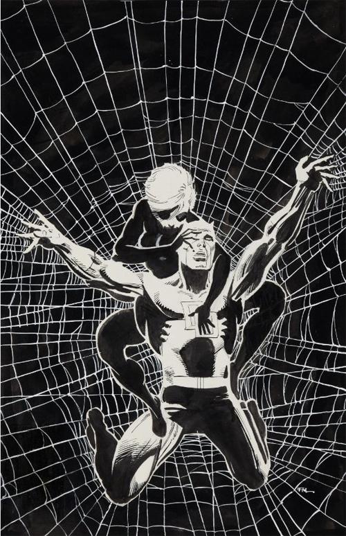 Frank Miller cover art for Daredevil #188
