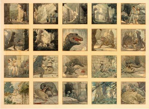 Original King Kong production art