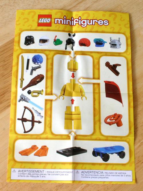 Lego Minifig checklist 2