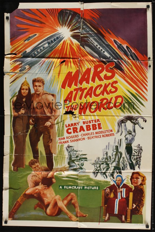Mars Attacks the World - movie poster