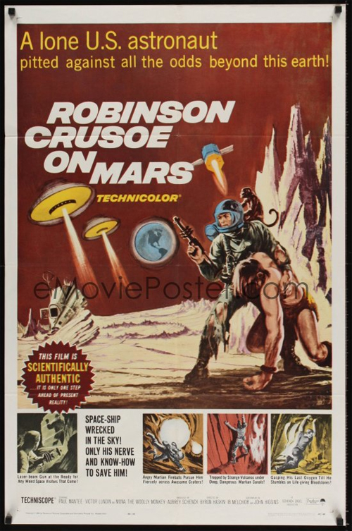 Robinson Crusoe on Mars - Movie poster