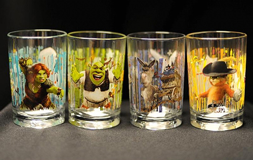 McDonalds Shrek drinking glasses recalled