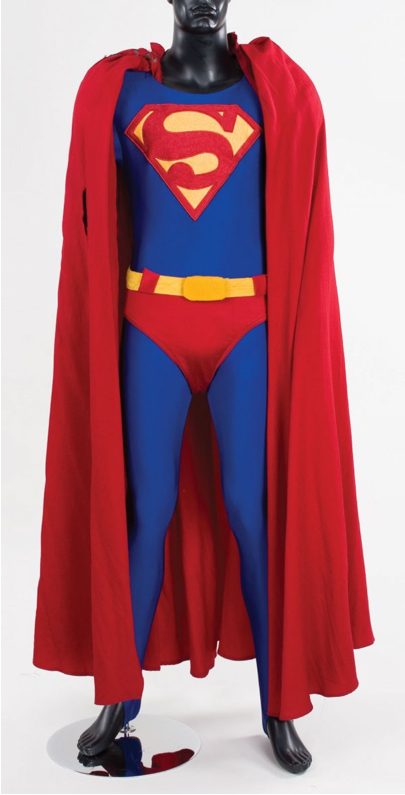 Superman suit authentic prop
