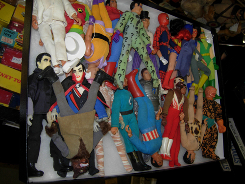 dc big flea mego dolls