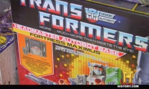 pawn stars transformers Fortrress Maximus