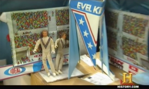 american pickers one pony town Evil Knievel play set