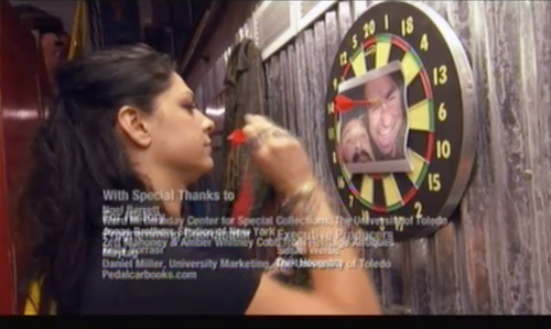 american pickers one pony town danielle dart board