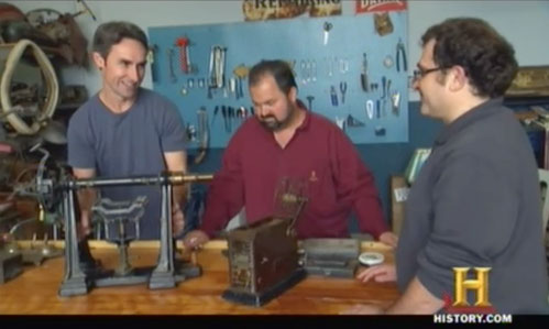 american pickers psychic pickings polarimeter