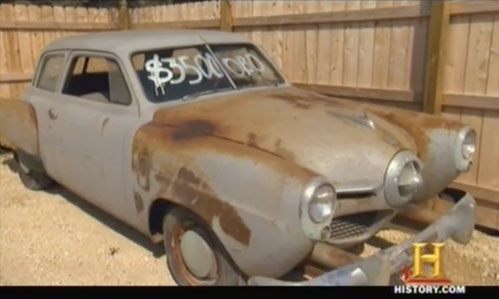american pickers psychic pickings studebaker