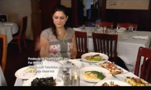 american pickers psychic pickings Danielle restaurant