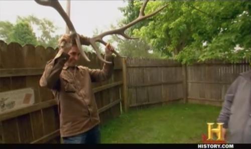 american pickers hobo jack Elk Horns