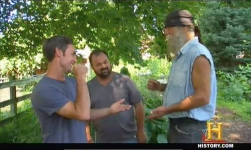 american pickers frank hippy Tom