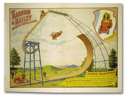 barnum and bailey vintage circus poster