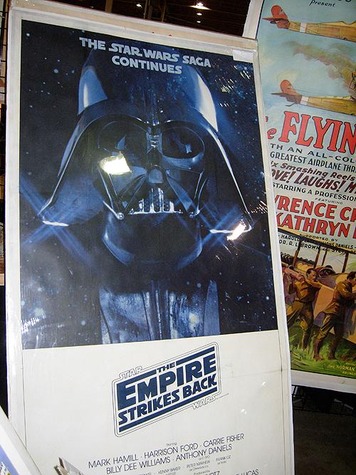 dc big flea empire strikes back poster