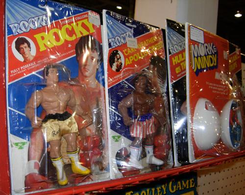 dc big flea rocky action figures