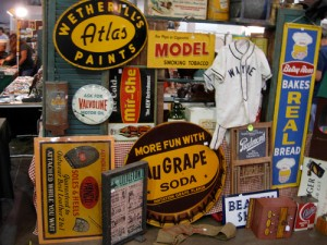dc big flea vintage signs
