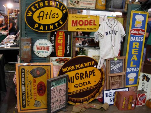 dc big flea vintage signs