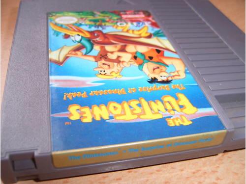 Flintstones Dinosaur peak NES video game