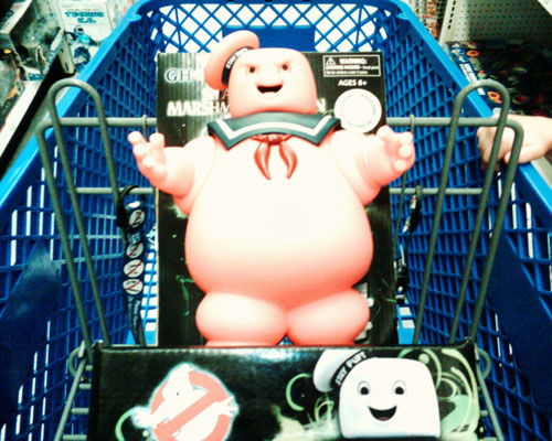 pink stay puft marshmallow man