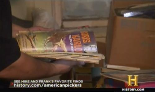 american pickers mikes breakdown comic books