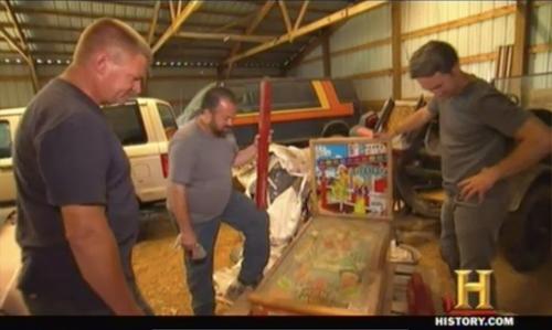 american pickers spitfire pinball machine