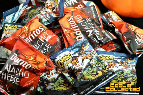 halloween doritos and cheetos