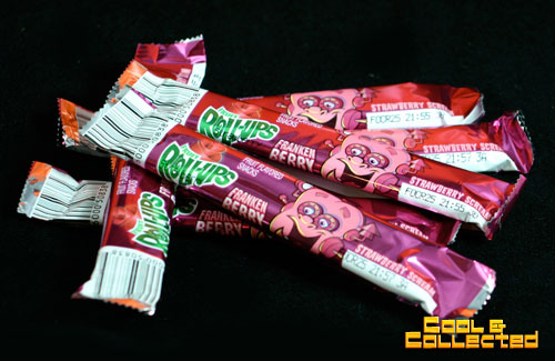 halloween frankenberry roll up