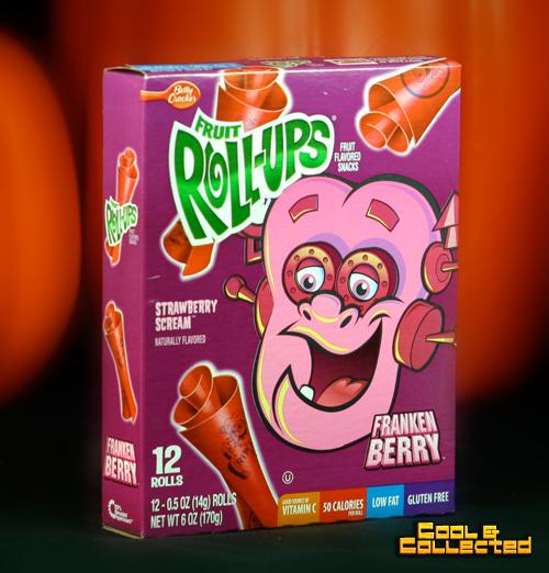halloween frankenberry rollups