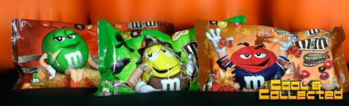 halloween m & m bags