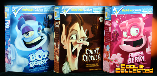 halloween monster cereal boxes