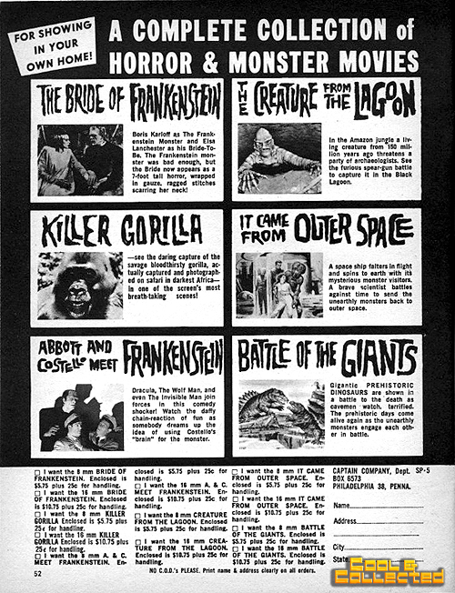horror monster movie ad 1