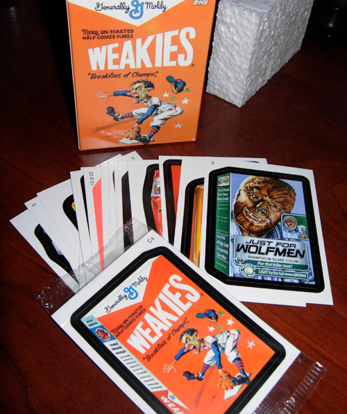 wacky packages topps 2010 series 7