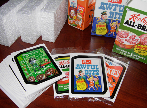 wacky packages topps 3-pack