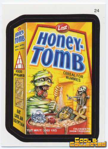 wacky packages series 7 - Mummy sticker