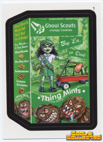 wacky packages - Ghoul Scouts