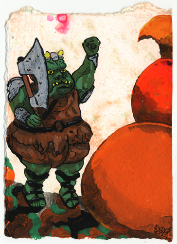 bwana spoons star wars action figures gamorrean guard