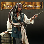 Sideshow pirates of the caribbean Jack Sparrow