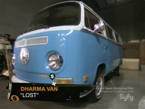hollywood treasure - LOST van