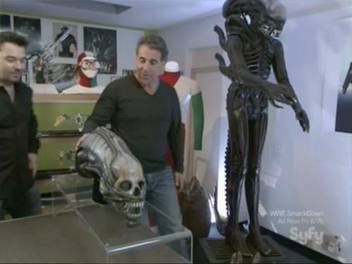 hollywood treasure - Original Alien movie props
