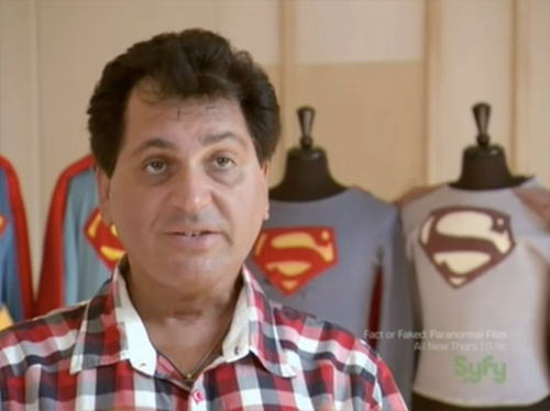 hollywood treasure - John Azarian Superman collection