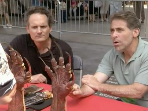 hollywood treasure Freddy Krueger gloves