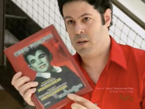 hollywood treasure Eddie Munster book