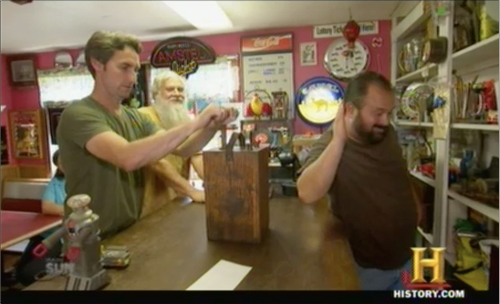 american pickers TNT plunger