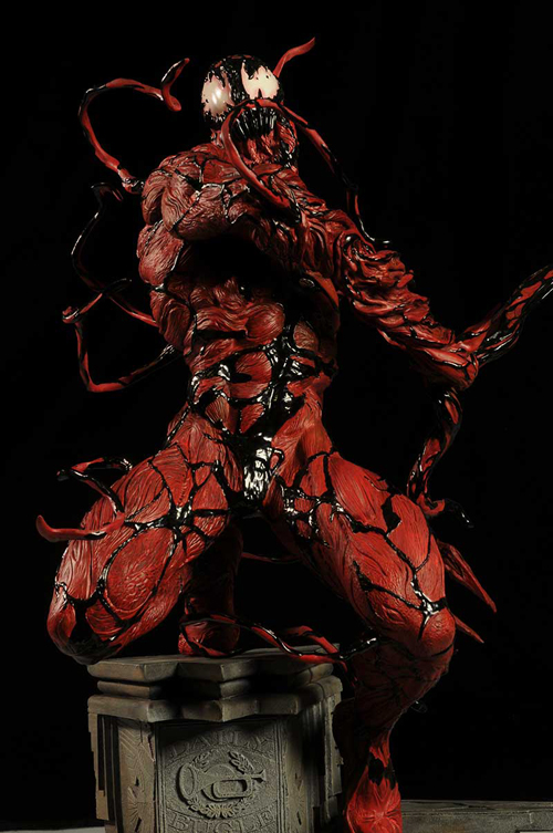 sideshow carnage comiquette