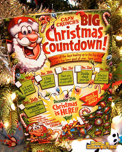 Christmas Crunch Cereal.Christmas Greetings From The Cap N