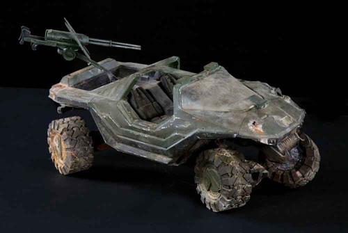 Halo 3 Believe diorama warthog