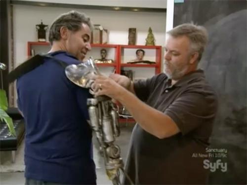 hollywood treasure Terminator arm prop