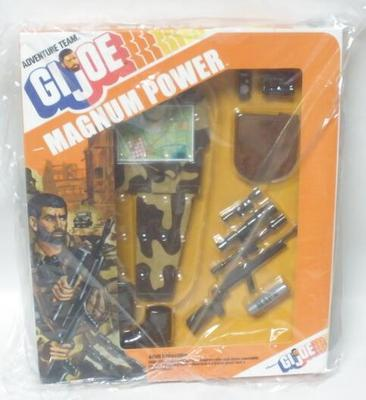 GI Joe Con 12  Magnum Power Set Adventure Team