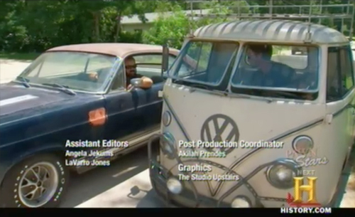 american pickers Ford Fairlane vs VW